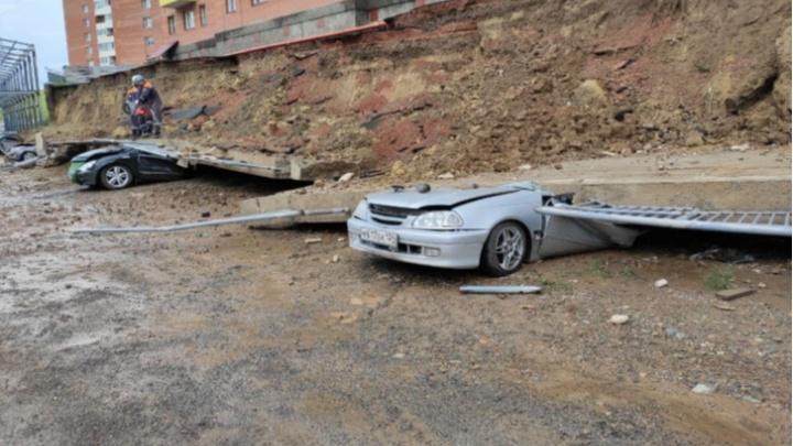 Каждая пятая подпорная стена в Красноярске — аварийная. Прокуратуру не устраивает скорость их ремонта