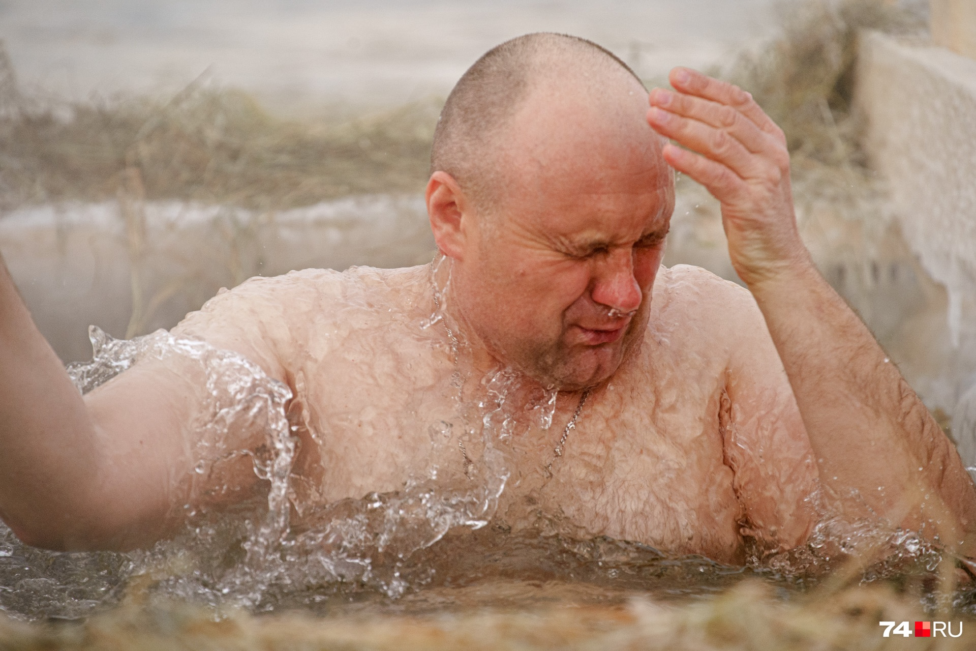 Искупался в Крещение, и как-то спокойнее на душе стало