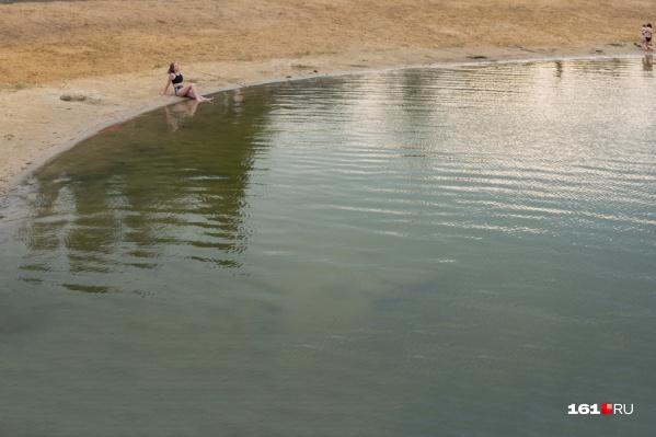 Пляж, на котором отдыхали ростовчане, не оборудован