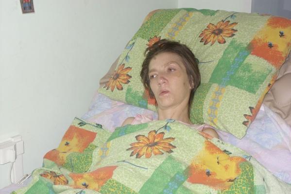 Долгое время Ирина провела в кровати
