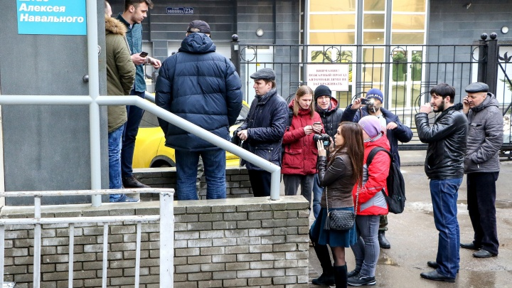 В нижегородский штаб Навального пришла полиция