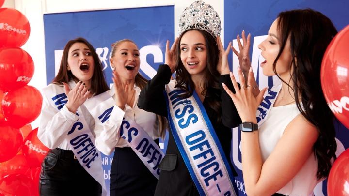 Юрист, проектировщик, тренер: выбираем самую красивую участницу кастинга «Мисс Офис — 2021» в Тюмени