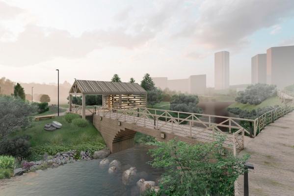 Парк станет новой природной зоной — единственной в этой части города между двумя «культурными» парками: «Березовой рощей» и «Садом Дзержинского». Причем получит статус парка не районного, а городского значения — из-за участия реки