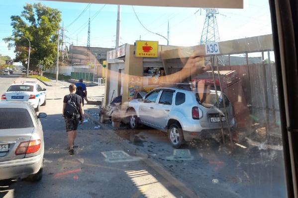 Инцидент произошел в Калининском районе