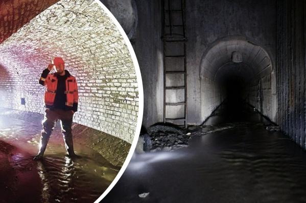 В челябинских катакомбах Даниилу Давыдову настолько понравилось, что он намерен вернуться туда этим летом
