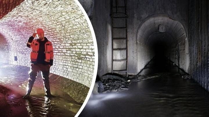 Река-призрак: московский диггер приехал в Челябинск, чтобы посмотреть подземный канал