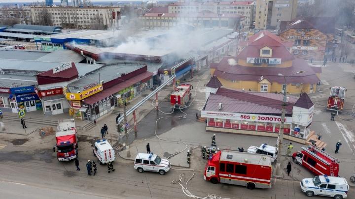 Пока под наблюдением: пострадавшие при пожаре на Качинском рынке в Волгограде остаются в больнице