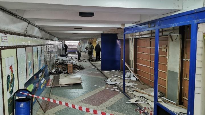 Логвиненко пообещал очистить от ларьков все подземные переходы Ростова