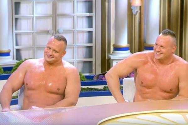 Сергей слева, Виталий справа