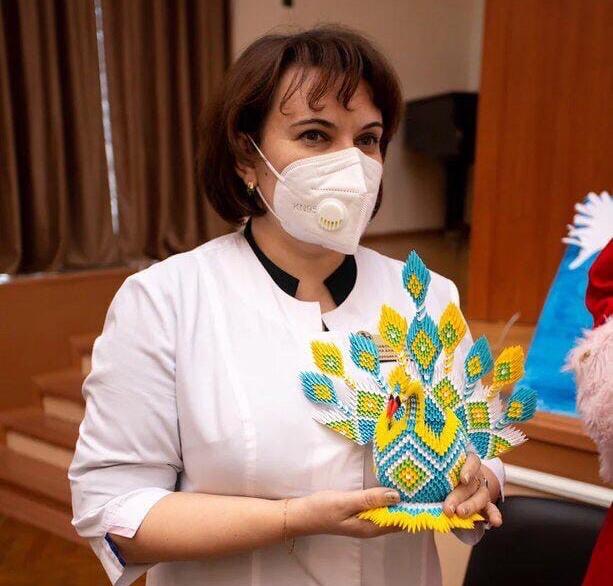 Ирина Павлюкевич с начала пандемии на передовой в борьбе с коронавирусом