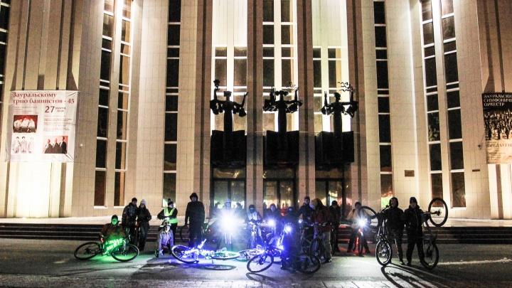 В Кургане велосипедисты проведут флешмоб в поддержку экологии