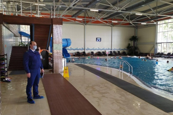 В аквацентре нашли нарушения правил безопасности