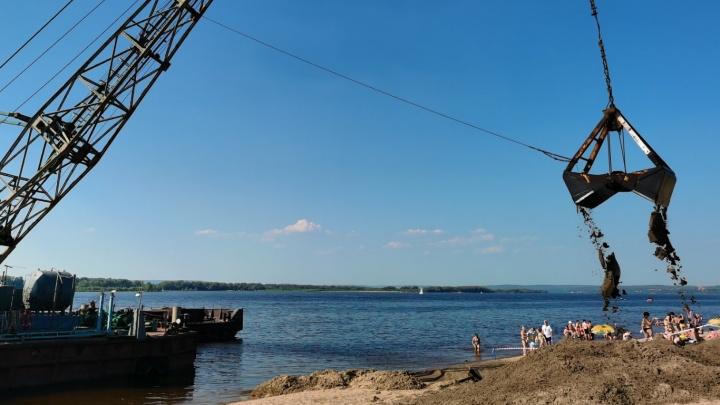 В мэрии назвали сроки обустройства пляжа на второй очереди набережной