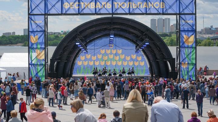 «Лента» высадила на набережной 60 тысяч тюльпанов и собрала больше 7000 людей на новый фестиваль