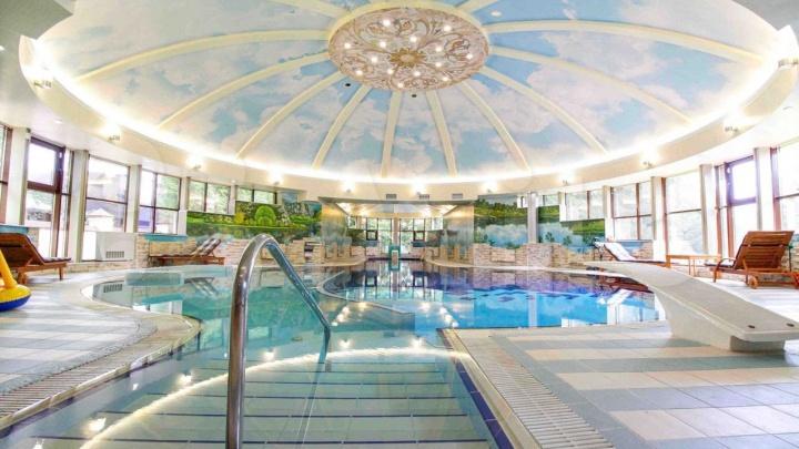 Под Кемерово продают роскошный особняк с огромным бассейном со скидкой 45%. Показываем фото изнутри