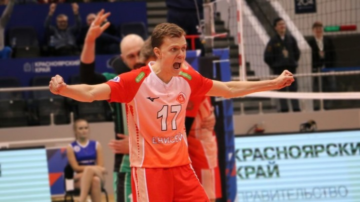 В уфимский волейбольный клуб «Урал» пришел игрок из красноярского «Енисея»