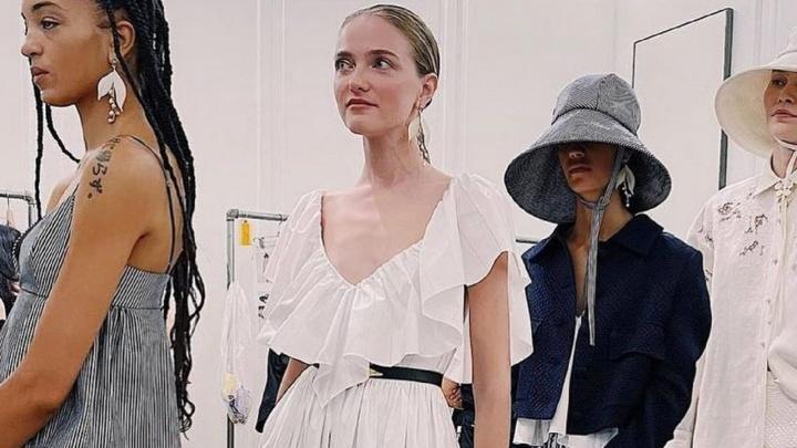 Омская модель выступила на Неделе моды в Нью-Йорке