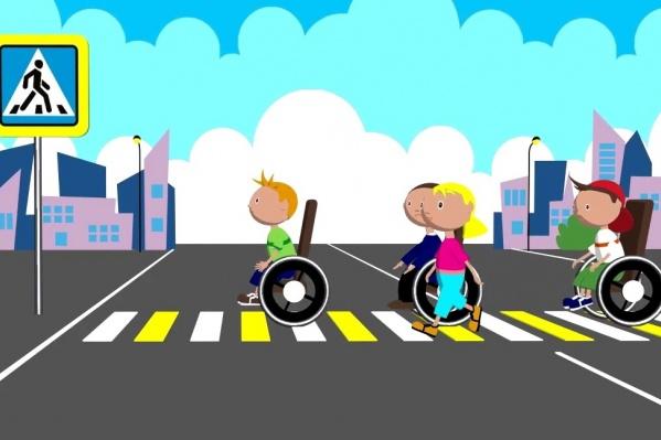 Среди этих детей только одна девочка соблюдала правила дорожного движения и осталась цела