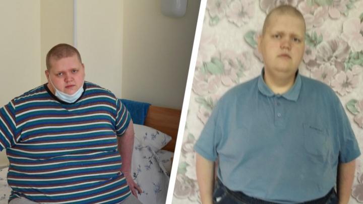 За полгода минус 54 кг: как живет свердловчанин, которому вырезали почти весь желудок