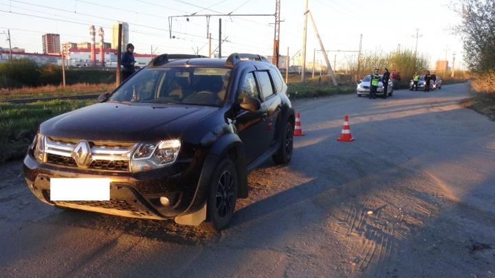 «От удара их отбросило на несколько метров вперед»: в Заречном Renault сбил подростка с собакой