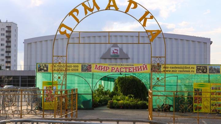 Уфимцы выступили против сноса фермерской ярмарки у Дворца спорта