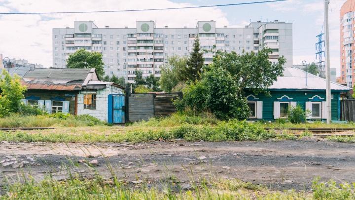 В Омске планируют снести частный сектор и построить многоэтажки