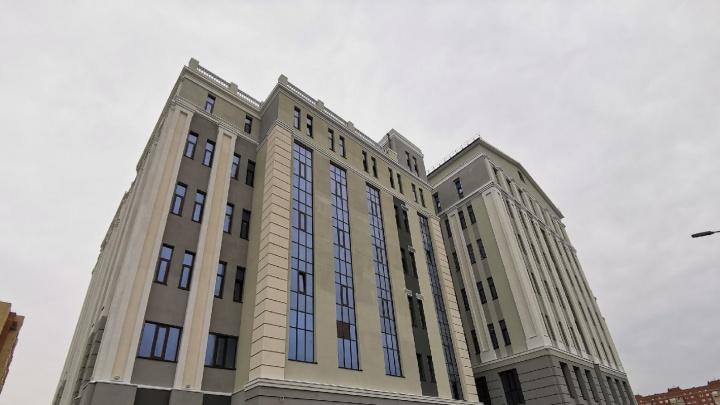 Омский облсуд планирует переехать в новое здание за миллиард до конца года