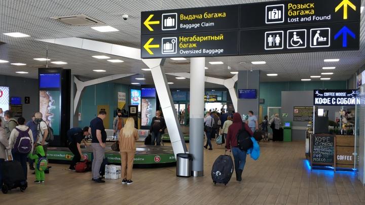 В Краснодаре совершил вынужденную посадку самолет, летевший в Беларусь