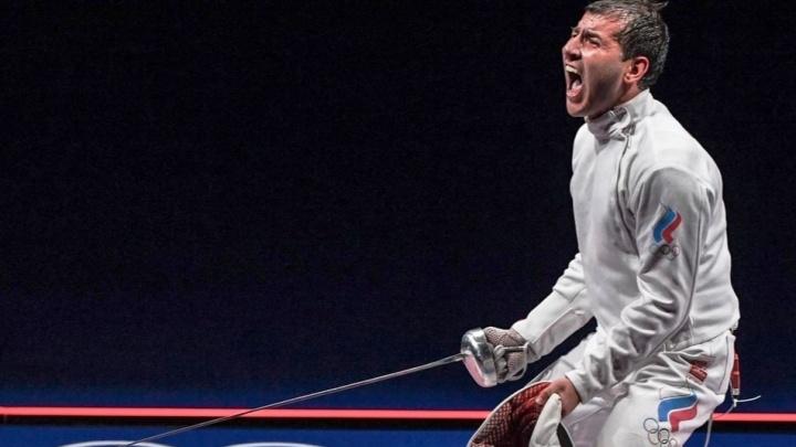 Самарский фехтовальщик выиграл серебро XXXII Олимпийских игр в Токио