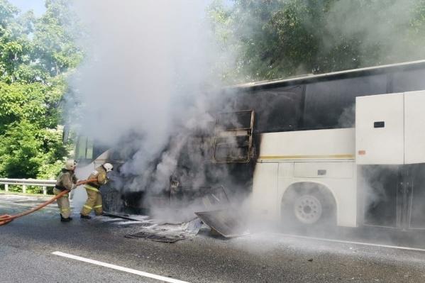 """В автобусах в момент ДТП находились <nobr class=""""_"""">62 ребенка</nobr>"""