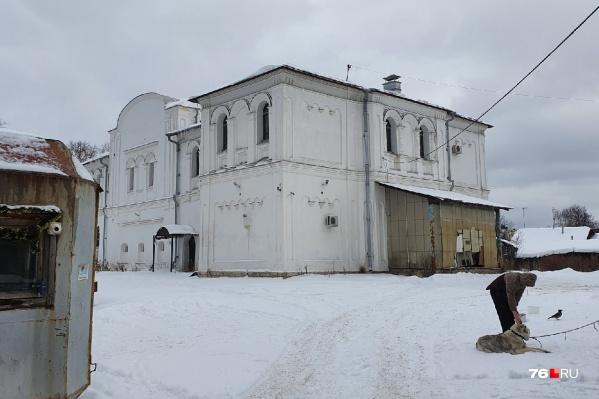 Здание Николо-Тропинской церкви находится в частной собственности