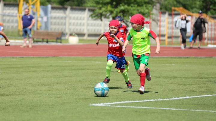 «Газпром трансгаз Чайковский» поддержал детский футбольный чемпионат