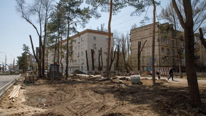 Благоустройство за 90 миллионов: в Волгограде перекопали проспект Жукова до Хорошева