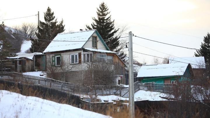В Красноярске снесут дачи для застройки 7 гектаров будущего микрорайона Университетского