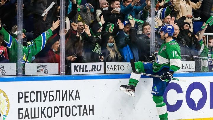 «Салават Юлаев» обыграл «Трактор» в четвертый раз подряд и вышел в полуфинал «Востока»