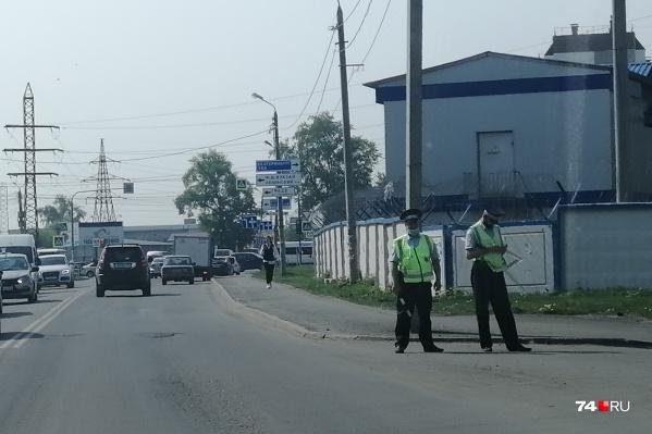 Инспекторы ДПС будут патрулировать территорию возле школ каждый день до особого распоряжения