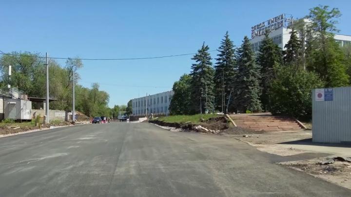 Четыре полосы поместятся? Смотрим на обновленный дублер на Ново-Садовой