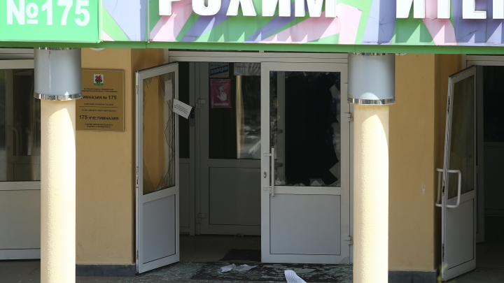 В Казани двое школьников разбились, выпрыгивая из окон захваченной школы
