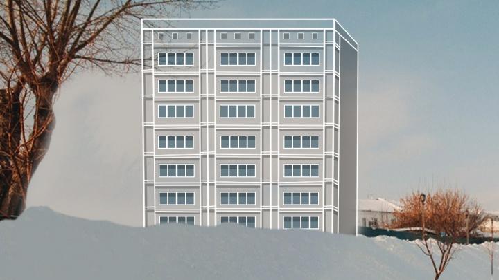 Нанабережной Туры построят 10-этажный отель. Его возведут на месте исторического здания