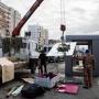 Сургутский район подарил городу теплую остановку за 2 млн рублей. Накануне ее смонтировал в районе УБР