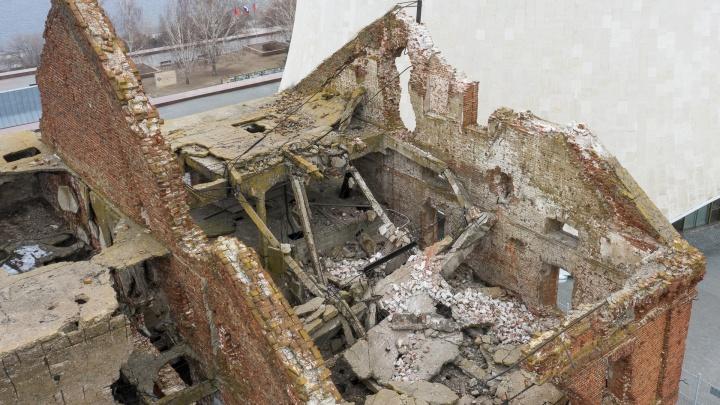 В администрации Волгоградской области заявили, что систематически наблюдали за разрушающейся мельницей