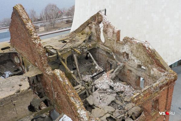 Директор Краеведческого музея Волгоградской области считает, что в дальнейшем мельница нуждается в более надежной охране