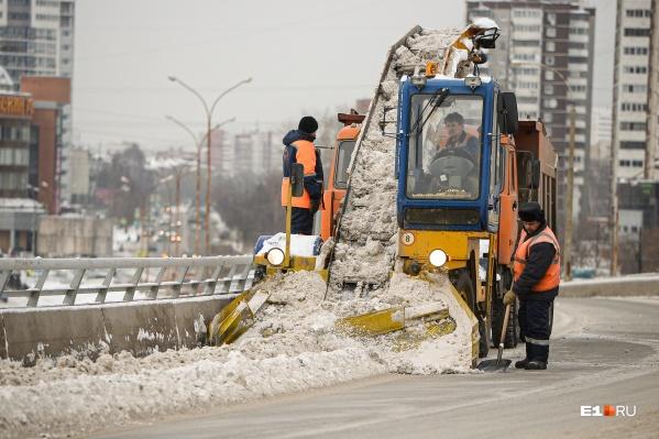 Из-за уборки снега на некоторых улицах появятся знаки «Стоянка запрещена»