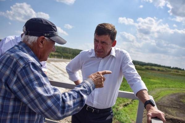 Фермеры Белоярского района убедили губернатора, что региону всерьез угрожает неурожай