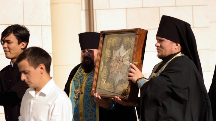 В Самару доставили Ташлинскую икону Божией Матери «Избавительница от бед»