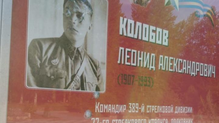 В Ярославской области возбудили уголовное дело после расстрела плакатов с ветеранами ВОВ