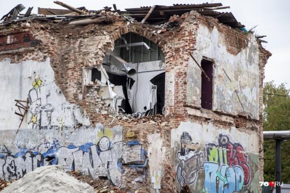 В Ярославле старинный дом сносят ради новостройки