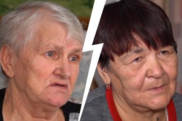 """Валентина (слева) и Василя (справа)<nobr class=""""_"""">38 лет</nobr>воспитывали не своих детей, и за это они хотят компенсацию морального вреда"""