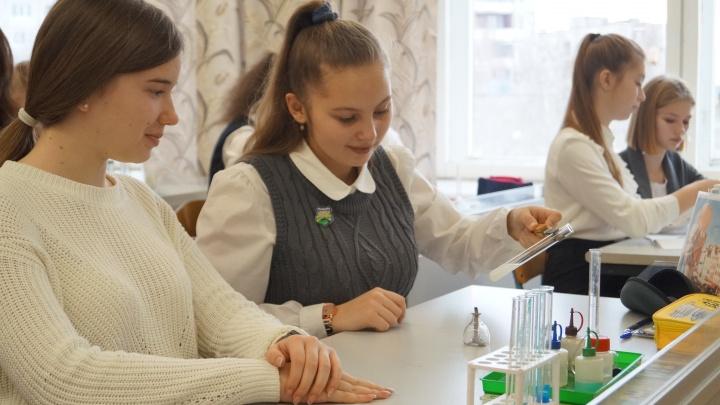 «Говорящая» таблица Менделеева и микролаборатории: в школе Поморья появился ультрасовременный класс химии