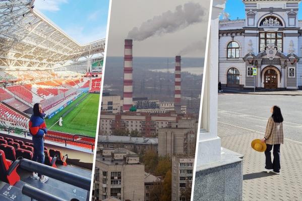 Кристина Бочарова ведет блог в Instagram о переезде в Казань